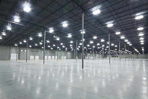 大型货仓灯光案例
